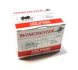 NIB 100rds. of .223 REM.Winchester 55gr. FMJ Brass Ammunition
