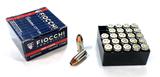 NIB 25rds. of 9MM LUGER Fiocchi 124gr. XTP-HP Personal Defense Ammunition