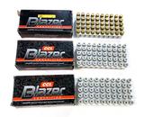 150 Rounds of 9MM Luger CCI Blazer Ammunition