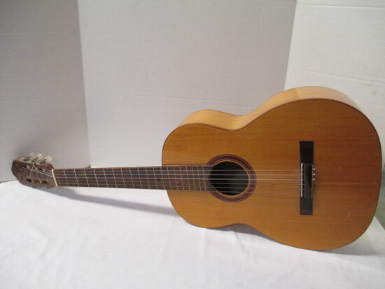 Guitar With Hand-Carved Headstock