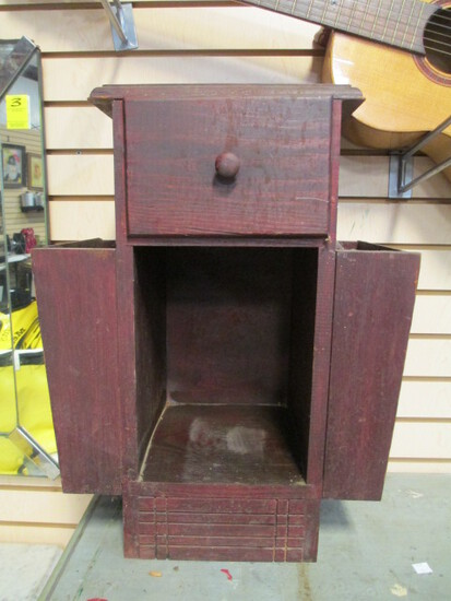 Small Wooden Magazine Stand/Side Table