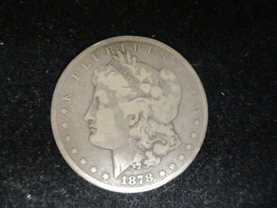 1878CC Morgan Silver Dollar