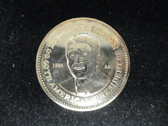 Ronald Reagan Double Eagle Presidential Comm. Series AA Round