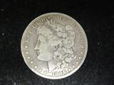 1896O Morgan Silver Dollar
