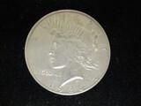 1926S Peace Silver Dollar