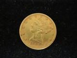 1881 Five Dollar Gold Half Eagle