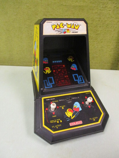 Vintage Coleco 1981 Pac Man Mini Arcade Game By Midway