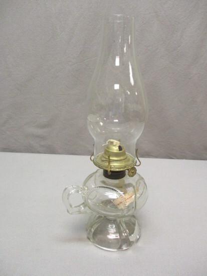 Beautiful Oil Lamp w/Handle