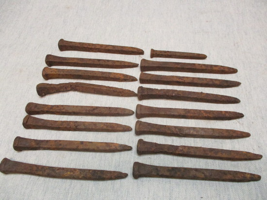 Very Unusual & Rare Steel Spikes or Nails