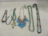 Necklaces & Pierced Earrings