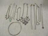 Silver Tone Jewelry