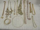 Gold Tone Jewelry