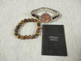 Strada/Genoa Watch & Bracelet Set