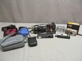 Lot of Cameras & Camera Bags