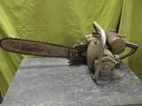 Vintage Sears David Bradley Large Chain Saw w/ 19