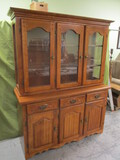 Beautiful Lighted China Cabinet - See All Photos