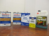 Paint Thinner, Water Sealant, Bug Wash -1 Can Water Seal & Klean Strip Paint Thinner are Full