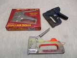 Lot of Staple Guns - Blue One is  for Duct Wrap Insulation