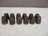 Lot of 12 Steel Bearings