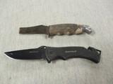 2 Knives - 1 is Sheffield