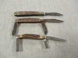 3 Vintage Knives - 1 is Uncle Henry - See All Photos