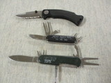 3 Knives - 2 are Golf Knives