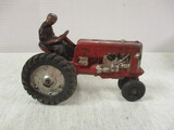 Vintage Rubber Toy Tractor