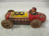 Vintage Metal Toy Race Car - See All Photos