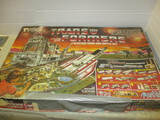 Vintage Trans Former Electric Train & Battle Set By Tyco