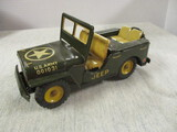 1954 Tin Friction Toy US Army Jeep 001031