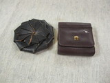 2 Vintage Leather Coin Purses