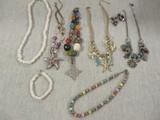 Necklaces, Bracelets & Pierced Earrings