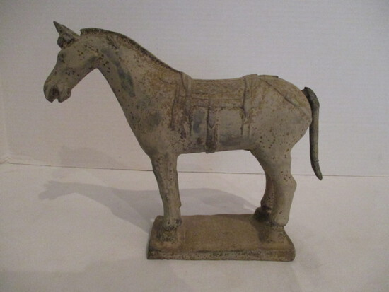 Chinese Pottery Horse Statue