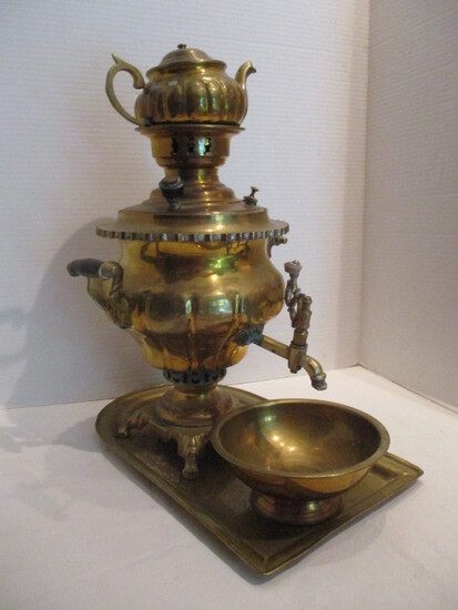 Korean Brass Samovar