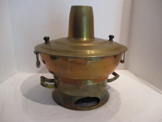 Korean Brass Hot Pot Steamer Cooker