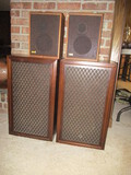 Realistic MC-500 and Sansui SP-100 Speakers