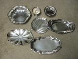 Silverplated Serving Dishes - International Silver, Empress by Hoka, Gorham, Wm. Rogers