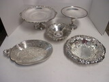 Silverplated Compotes and Bowls