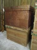 Pair of Japanese Tea Crates
