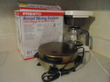 Mr. Coffee 10 Cup Coffee Maker, Presto Bread Slicing System, Toastmaster Waffle Iron