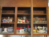 Kitchen Cabinet Contents - Dishes, Kitchen Utensils, Bakeware, Coffee Press