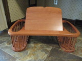 Wood Bed Tray with Tilt Top