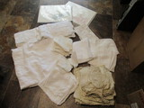 Vintage Tablecloths and Cloth Napkins and Rice Paper Placemats