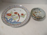 Japanese Plate and Bowl