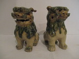 Pair of Japanese Temple Dogs