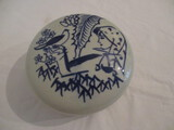 Chinese Pottery Covered Round Dish