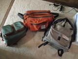 Lowe Pro Photo Trekker Backpack, Tough Traveler Camera Bag, and Coast Camera Bag