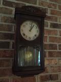 Meiji Wall Clock with Key