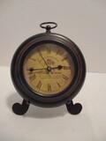 Quartz Clock on Metal Stand