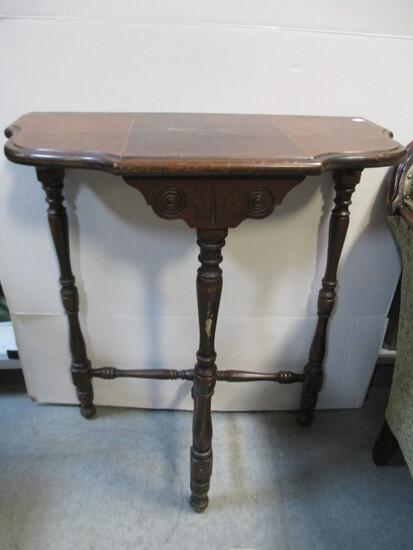 Three-Legged Eastlake Hall Table
